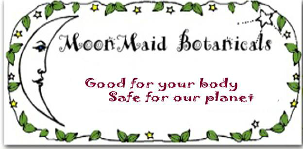 - MoonMaid Botanicals is a grass roots company dedicated to providing handcrafted herbal products that are good for you and safe for our planet.  Founded in 1995 by Cynthia, this company has focused on offering women herbal remedies that may be helpful for life transitions like menopause, puberty and fertility.  Chemical and hormone free, women have come to value (and Love) the magic that herbs can bring to these cycles.