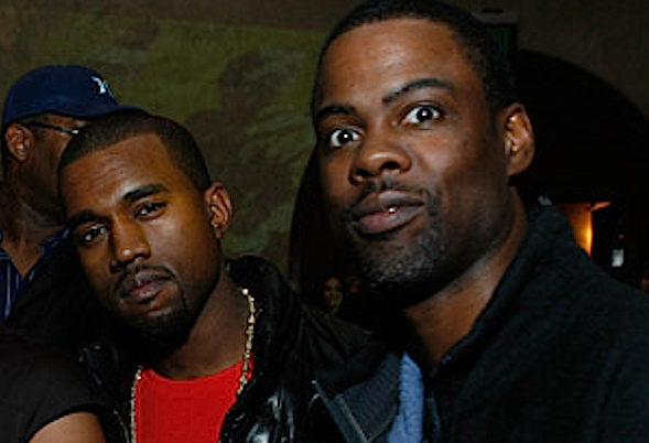 Kanye West and Chris Rock