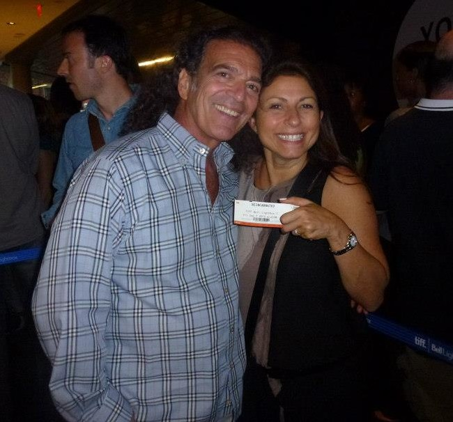 "My parents looking cute before the 2012 premiere of the Snoop Lion ""Reincarnated"" documentary."