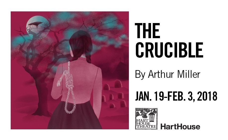 I will be playing Reverend Parris in Hart House Theatre's upcoming production of The Crucible. Tickets are available now, and the show runs from January 19th to February 3rd.