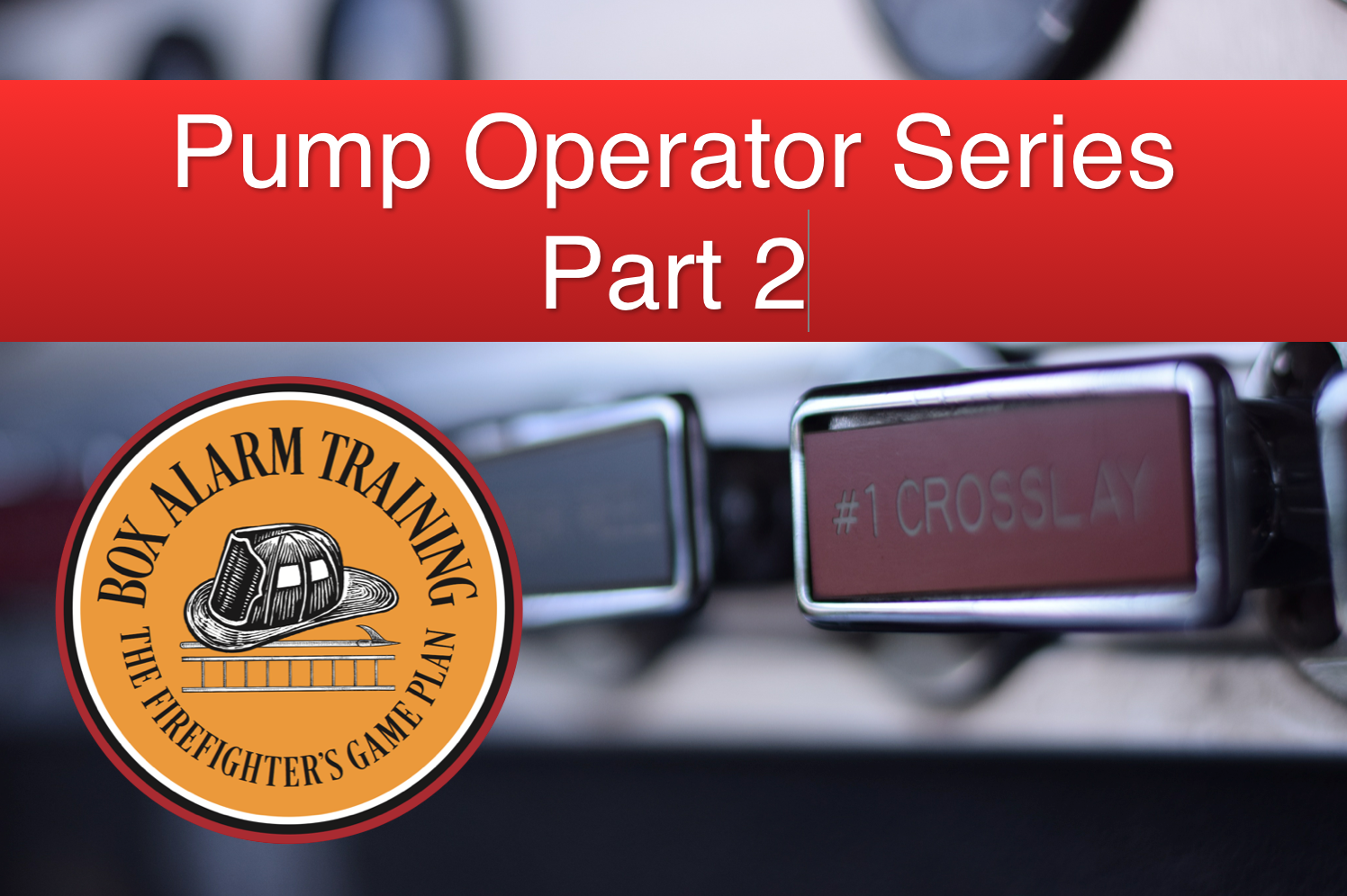 Pump Operator Training - Part 2