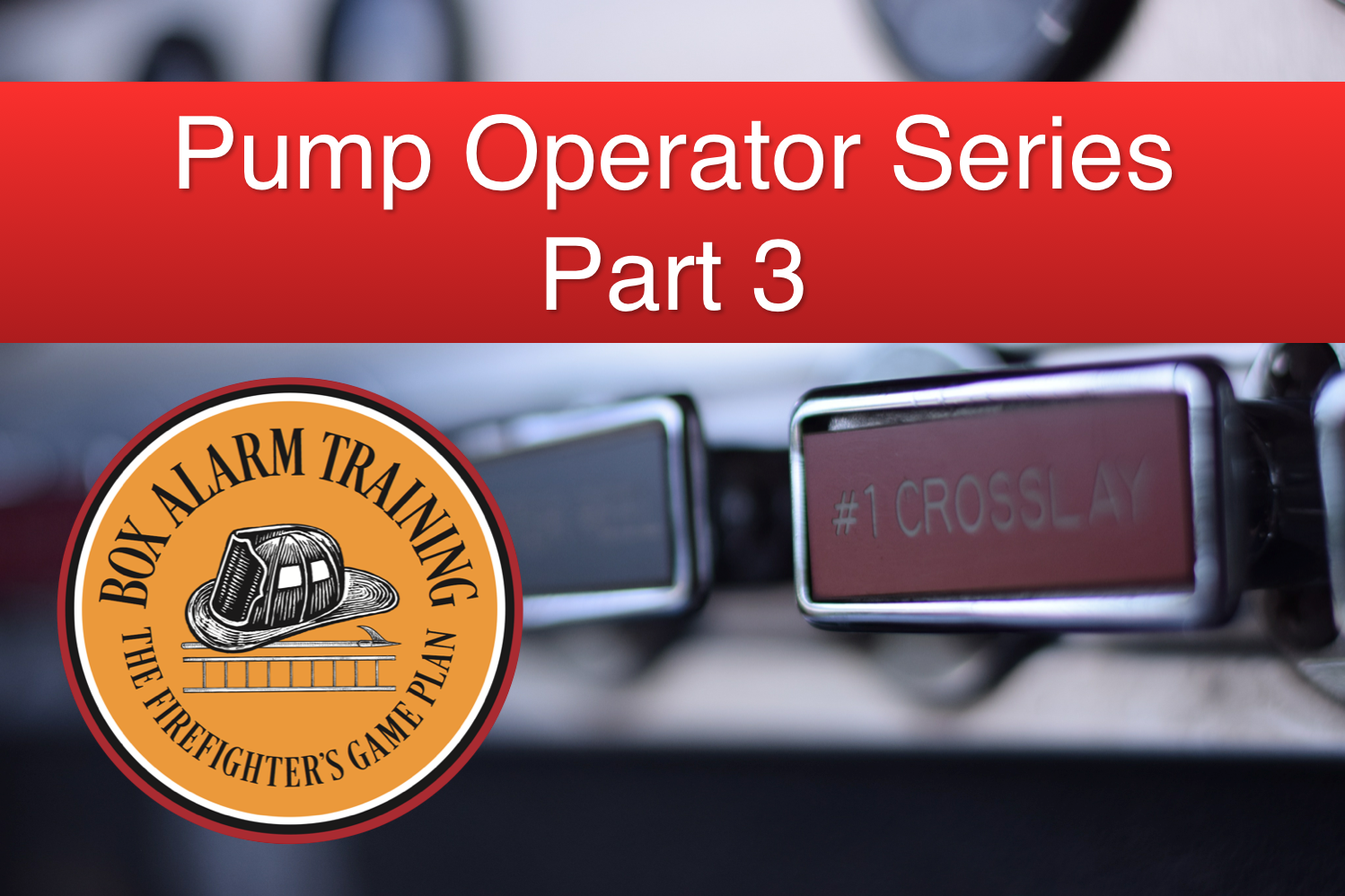 Pump Operator Training Part 3