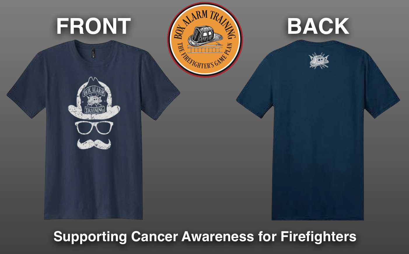 Firefighter Mustache Shirt
