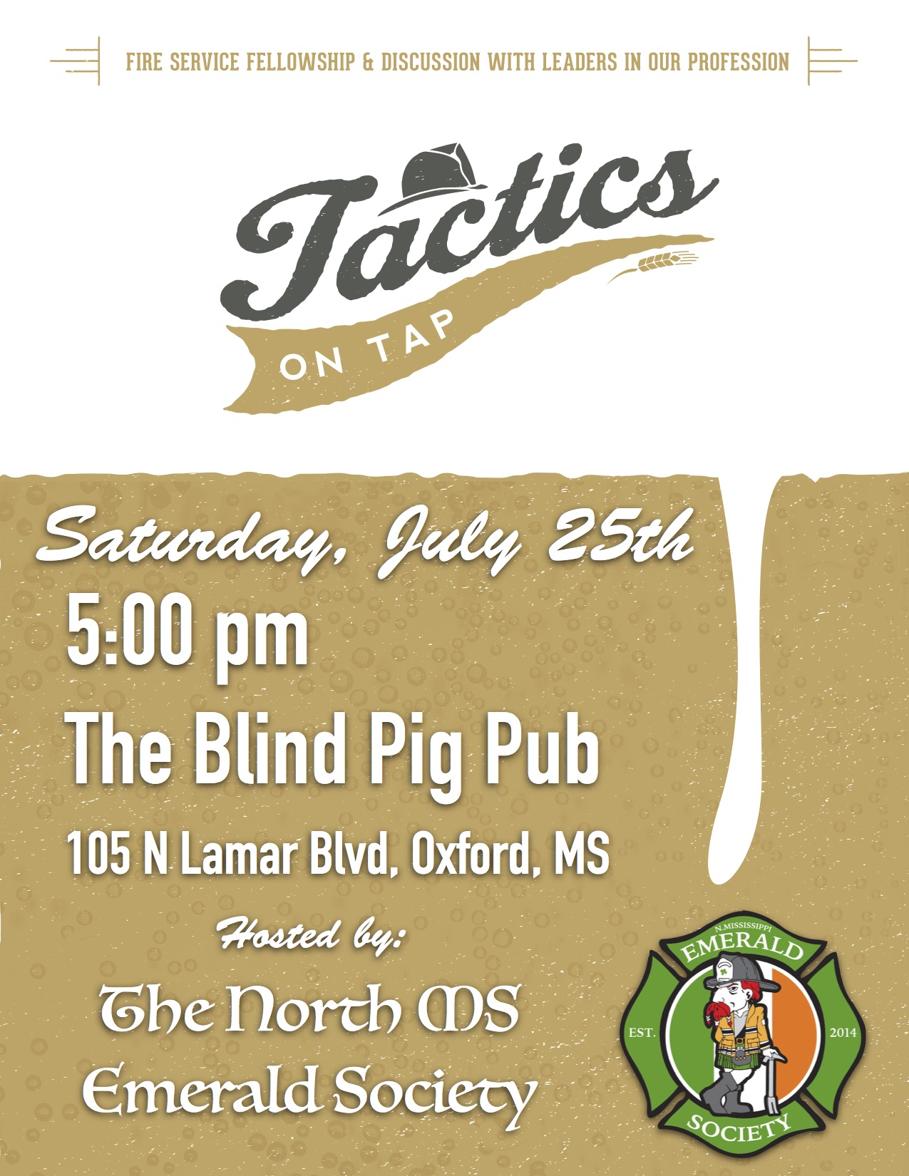 Tactics on Tap July 2015