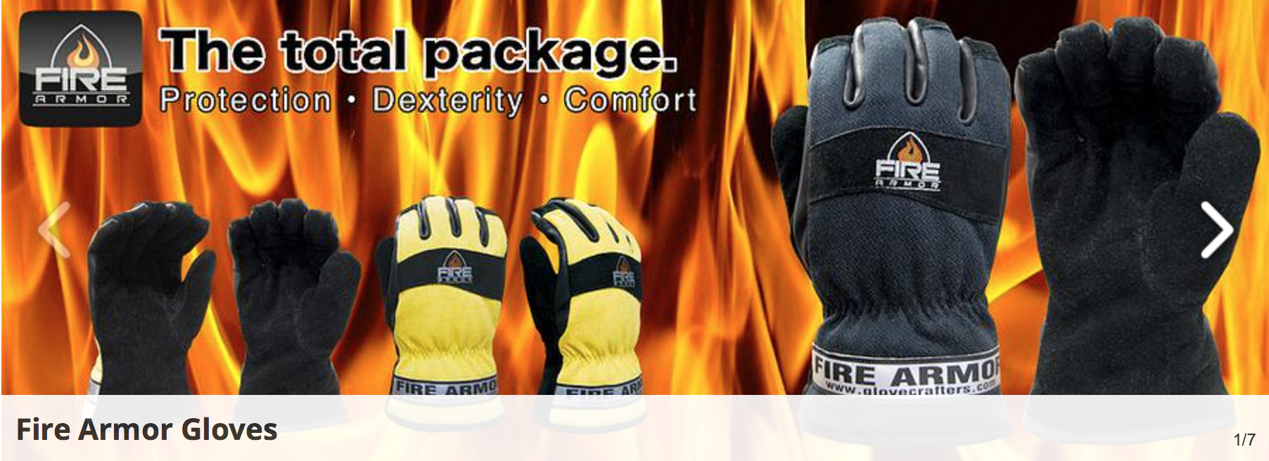 Glove Crafters Fire Armor