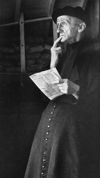 Pensive Priest, France