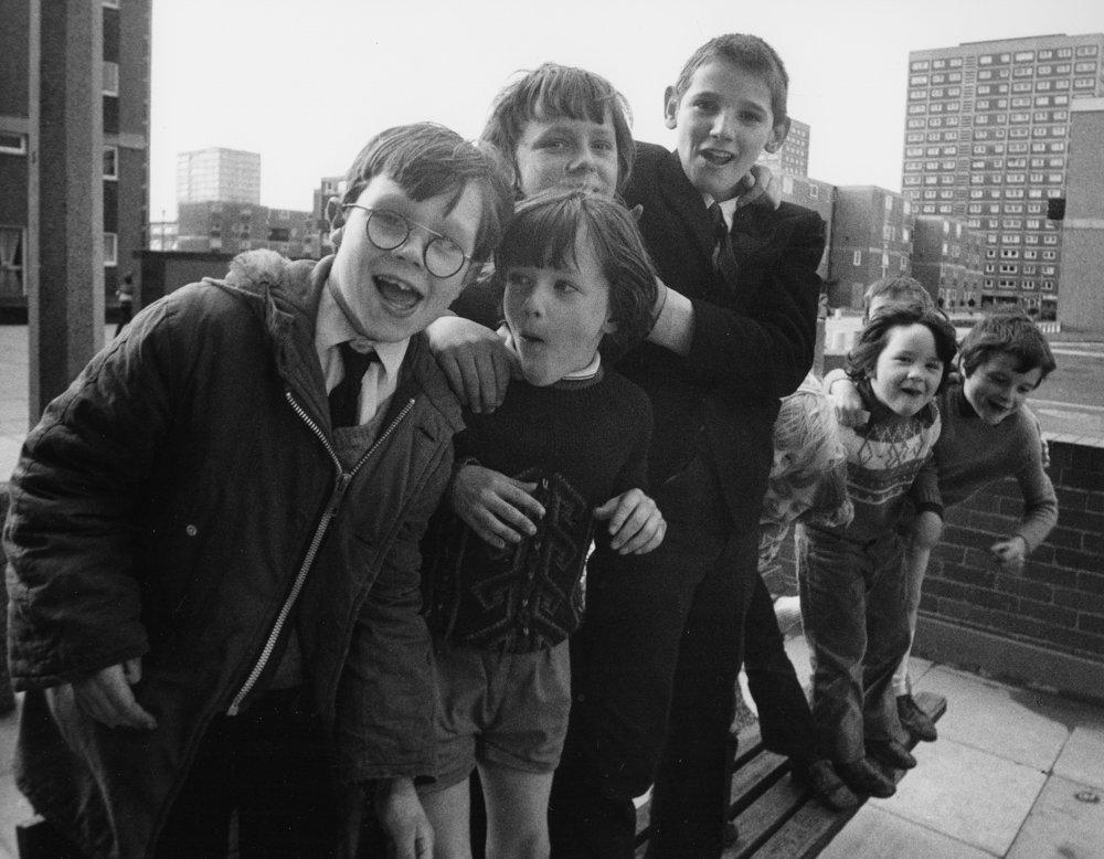 Salford, Group of Kids, 2-61-27 (1972).jpg