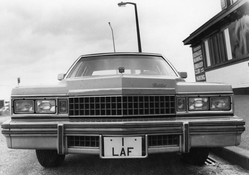 Bernard Manning car