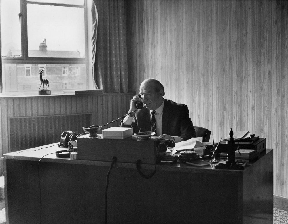 Matt Busby office (1968)
