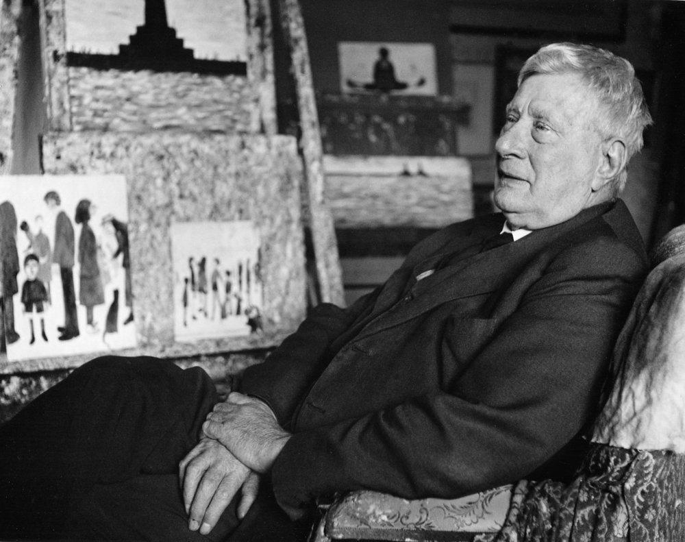 Lowry by painting