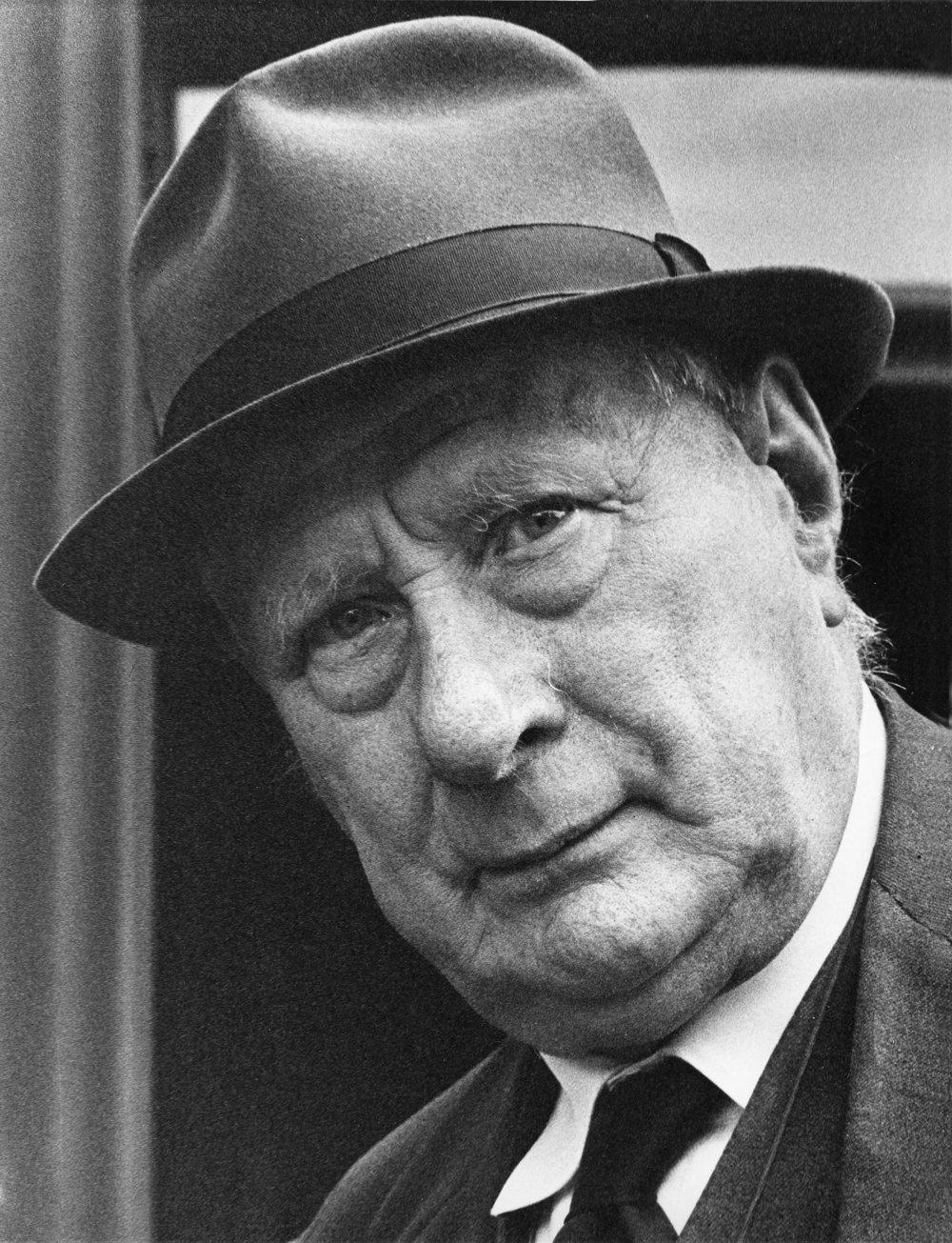 Lowry portrait