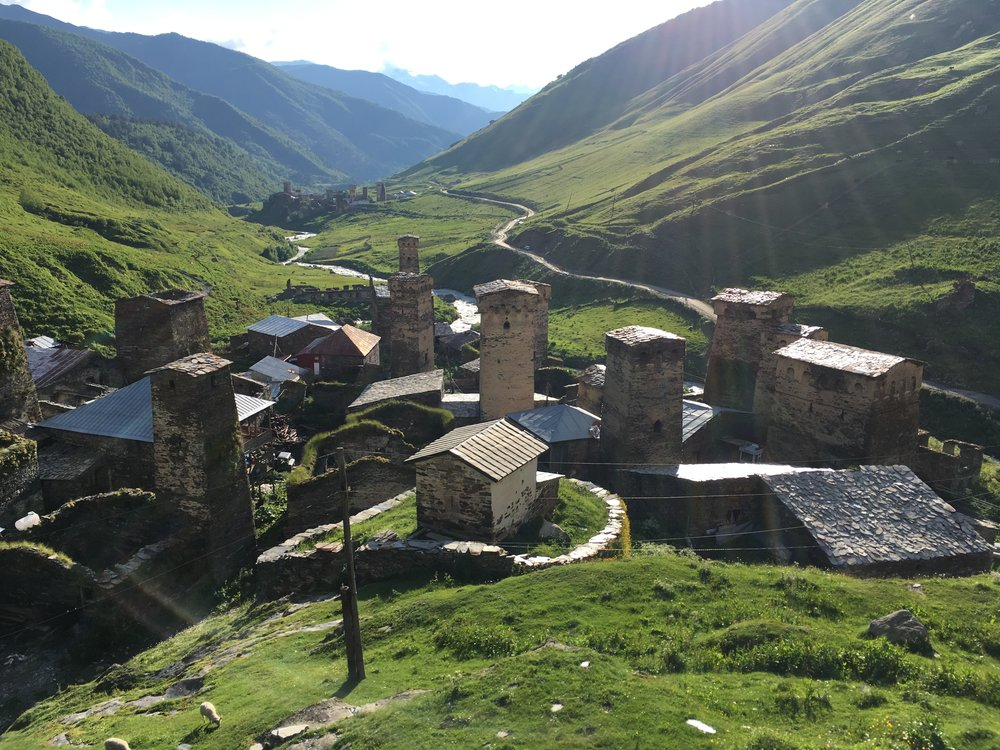 CONDÉ NAST TRAVELER: Visiting Ancient Ushguli, Georgia's Village in the Clouds