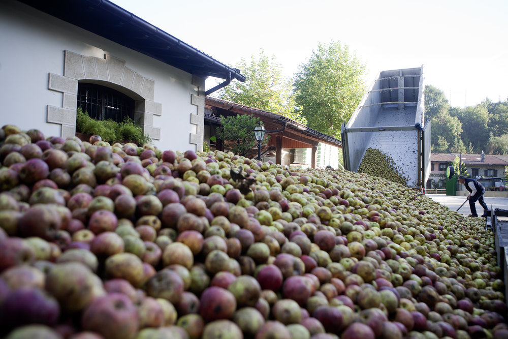 CONDÉ NAST TRAVELER: On the Cider Trail in Spain's Basque Country