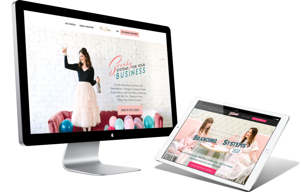 Ms. Paper Moon Branding and Website Design Services | Stephanie Owens