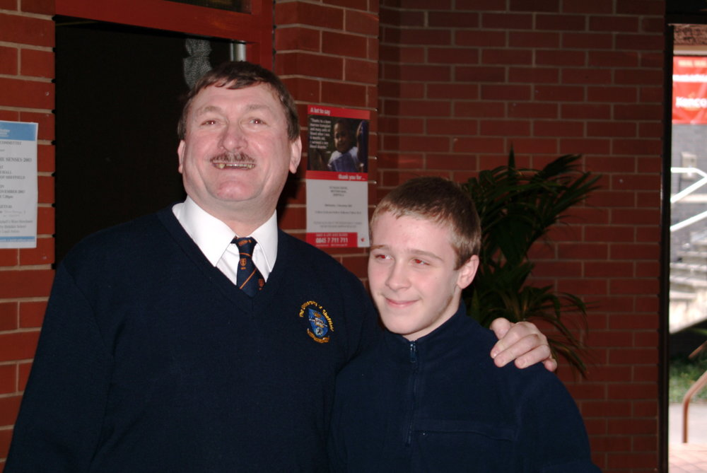 My son Tristan with my brother David circa 2004. Click  HERE  to see video.