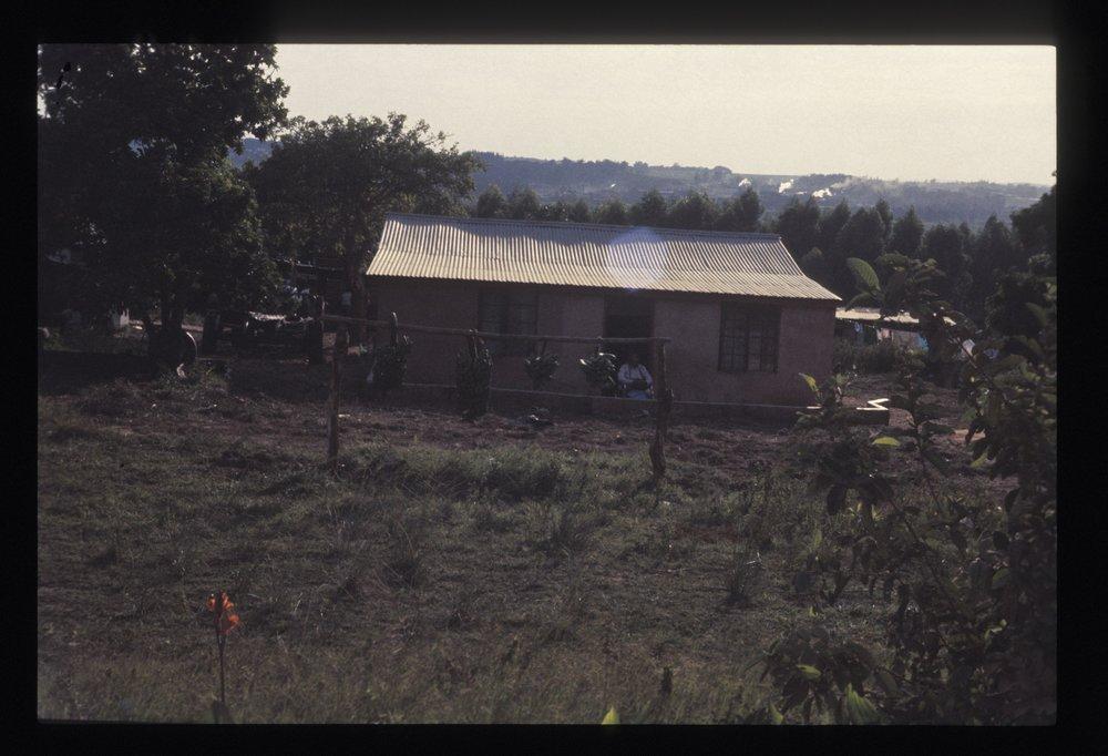 Local Bantu home.