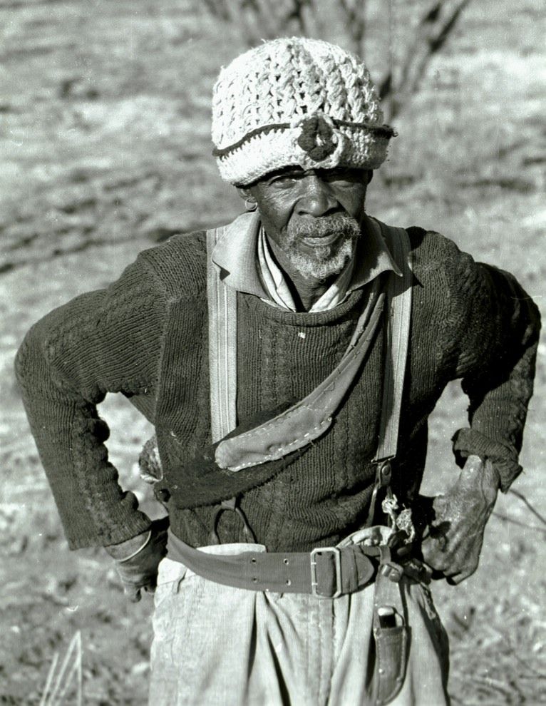 The old man of Lesotho.