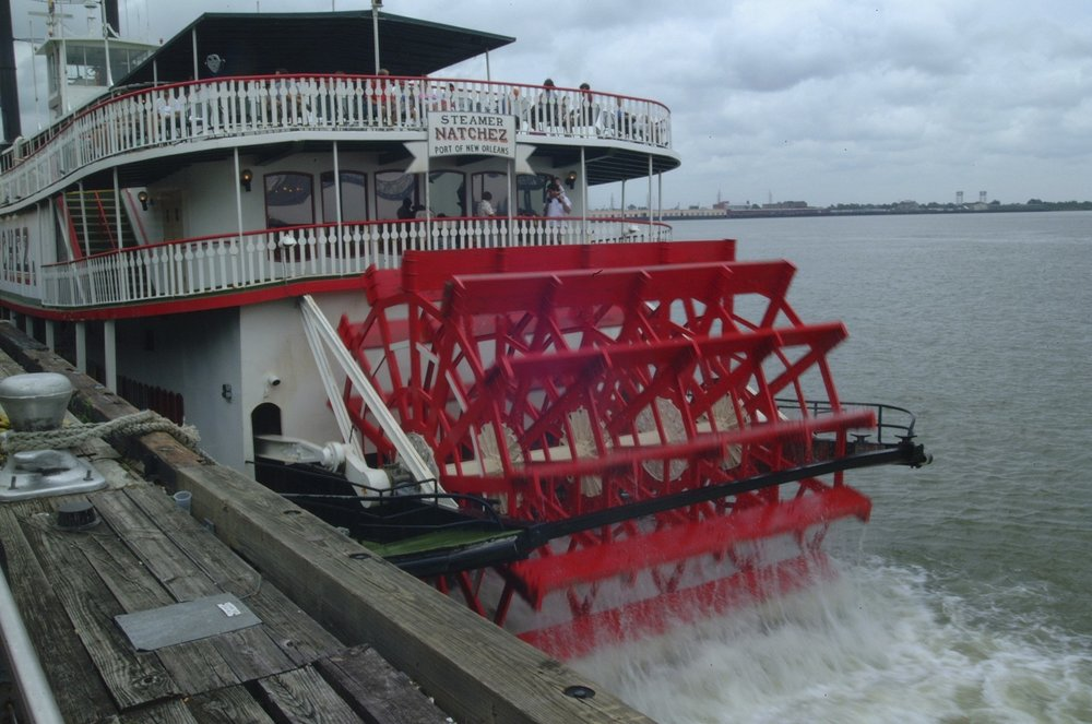 Good old Steamboat ride on the Mississippi.