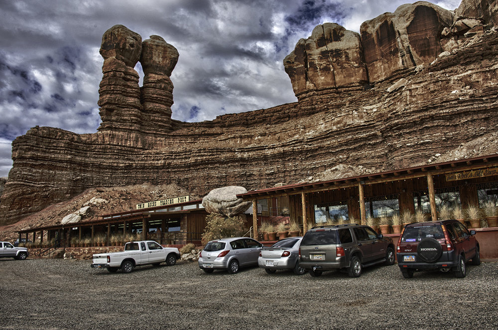 Twin Rocks Trading Post. Isn't this something?