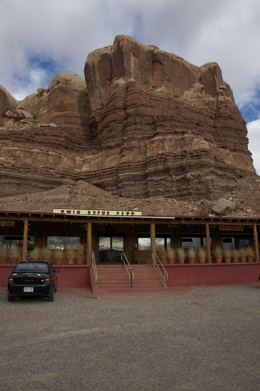 Twin Rocks Cafe Bluff, Utah