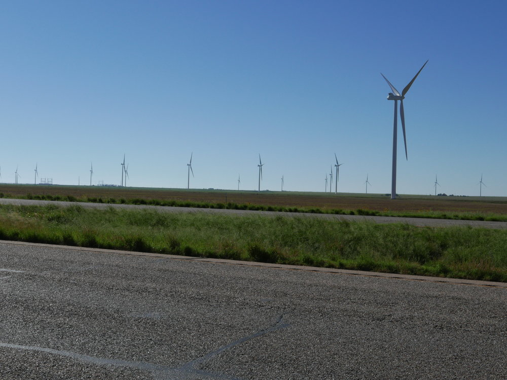 Wind Farms everywhere
