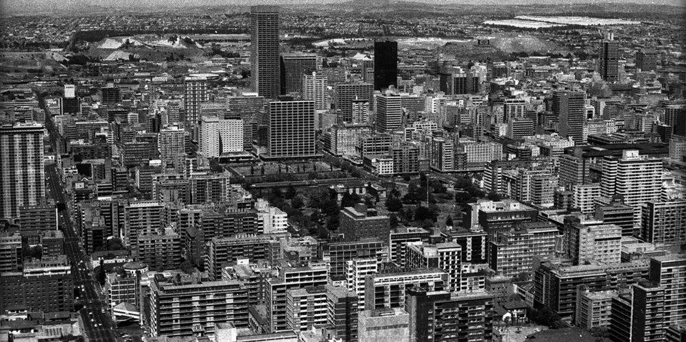Johannesburg, S. Africa Circa 1974