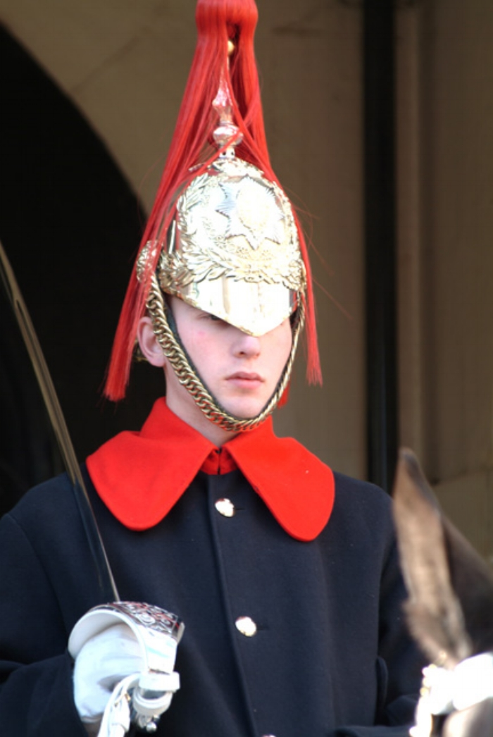 Royal Guard. Looks a bit young doesn't he?