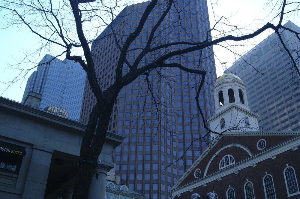 Financial District, Boston.