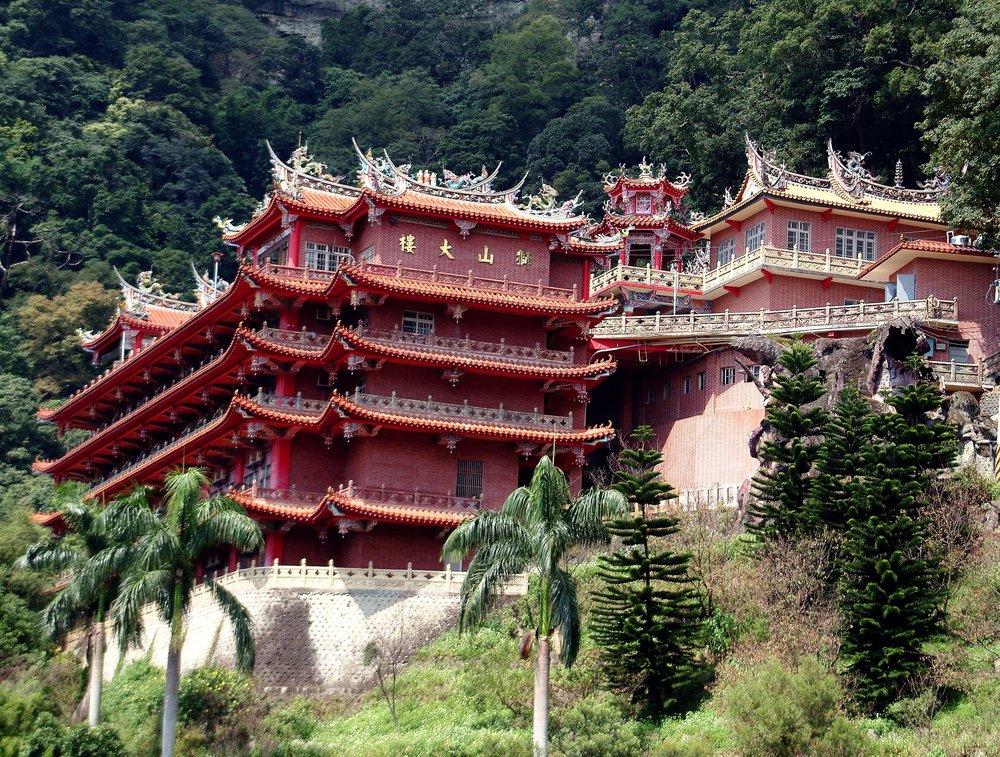 Beautiful Chuanghuang Temple.