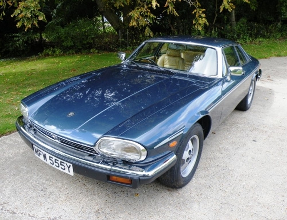 !985 Jaguar XJS Cobalt Blue—- My first Jag was identical