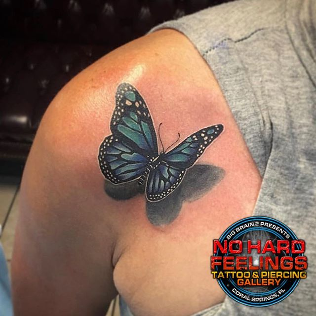 Tattoo done by @vanitylynntatz here @nohardfeelingstattoo Call or come by to talk tattoos, piercings, and make an appointment!!! Walk-ins are always welcome, depending on our artists' availability; it's first come - first serve, so get here quick!!! . . . . . #tattoo #tattoos #tattooing #tattooartist #southflorida #soflo #coralsprings #coralspringsflorida#coralspringsfl #southfloridatattoo#guyswithtattoos #guyswithink #guyswithpiercings #girlswithtattoos#girlswithink #girlswithpiercings #art #artists #blackandgreytattoo #colortattoo#blackandgreytattoos #colortattoos#blackandgrey #color #worldfamous #famous #worldfamoustattoo #famoustattoo