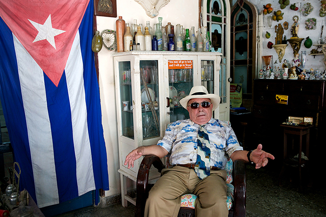 Shopkeeper, Havana Cuba