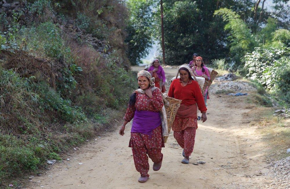 Gatherers, Nepal