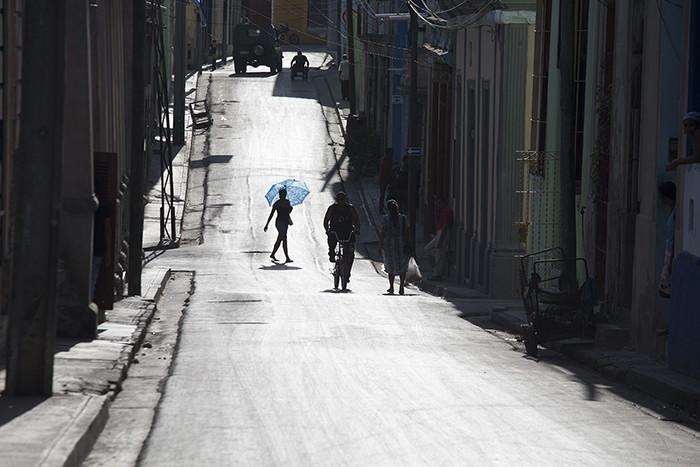 The streets of Santiago, Cuba