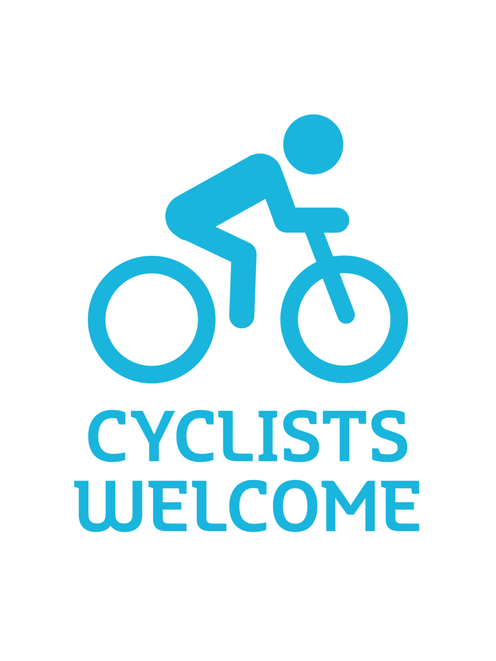 Cyclists welcome.jpg