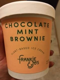 Chocolate Mint Brownie from Frankie & Jo's