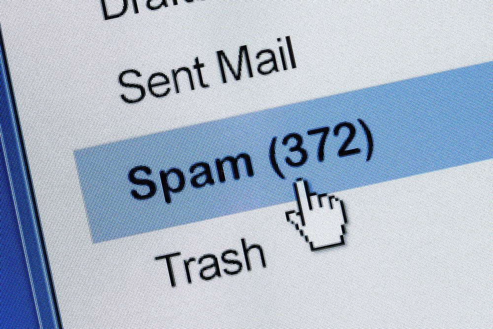 Spam Folder Image