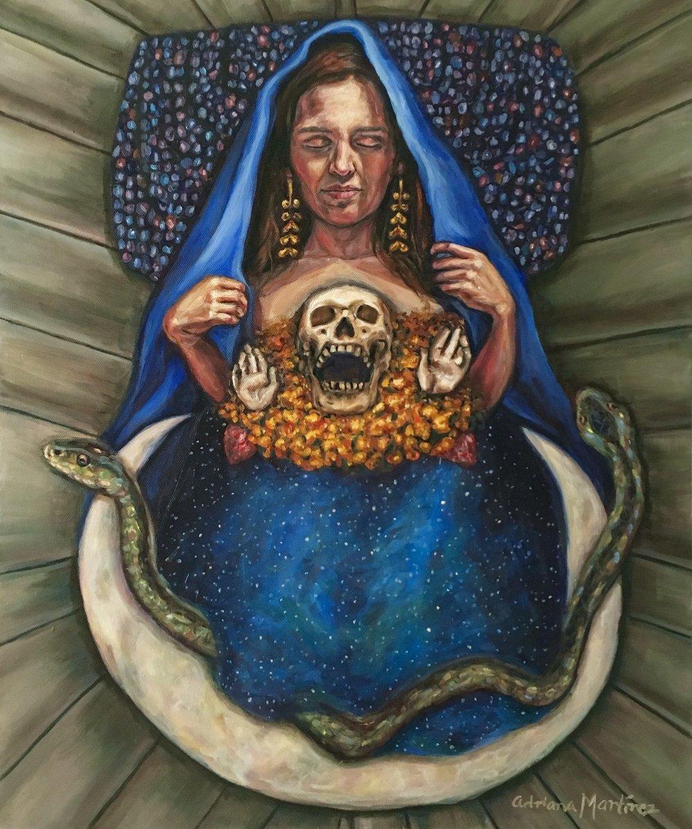 La Virgencita de Nuestras Raíces/www.adrianamartinezartist.com