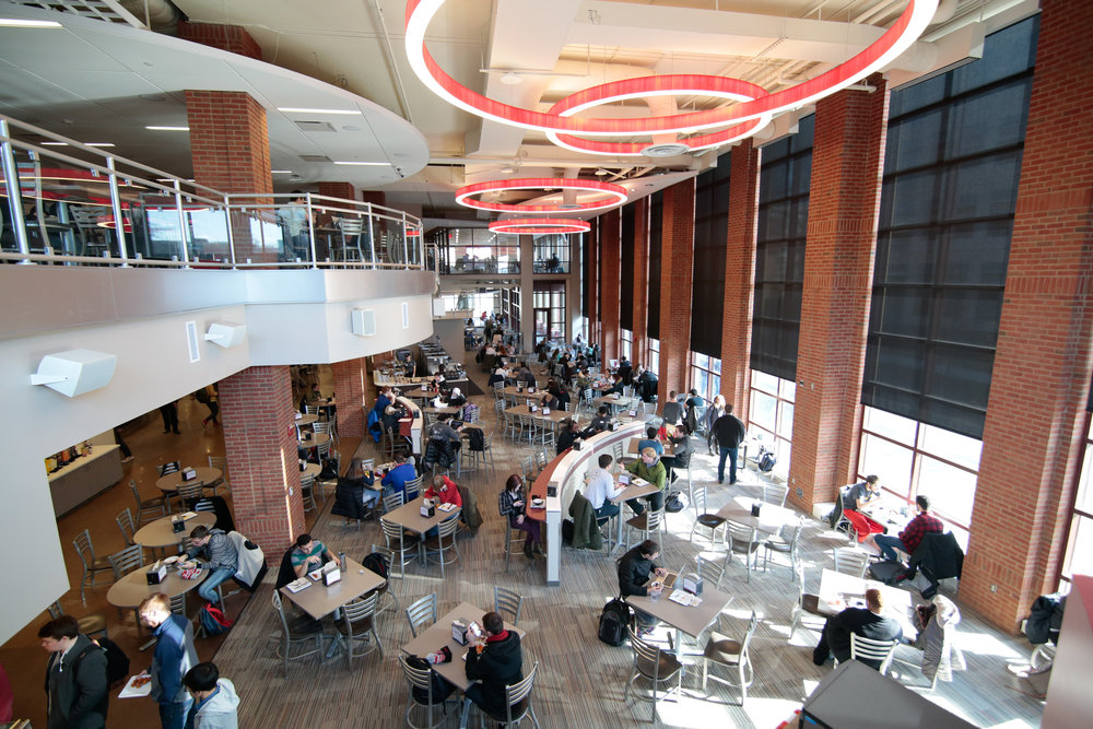Ohio State University, Scott Hall: Capital Project Planning - Envision Strategies; Foodservice Design - Ricca Design Studios; Architecture – HKS HADP Studio