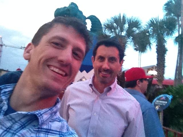 Chris with Author and Life Coach, Jay Forte. Orlando, Florida