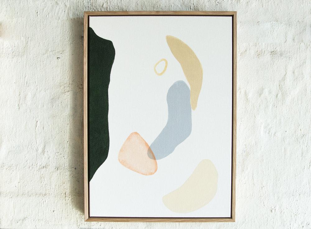 Sylvia 3 | Acrylic on A2 canvas