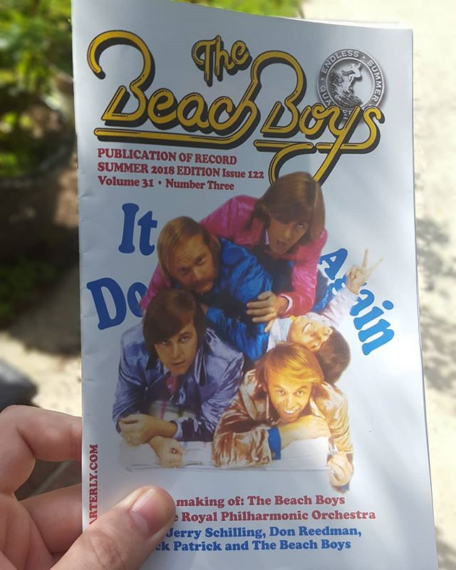 Check out who's in the new issue of The Beach Boys magazine. Thanks, @esq_editor! Be sure to follow them and sign up!