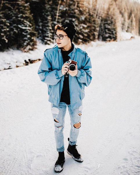Canyon Schmerse @heycnyn - Canyon is a San Diego based portrait photographer and YouTuber.  His signature photography style features portraits that are bright, contrasty, colorful and playful.