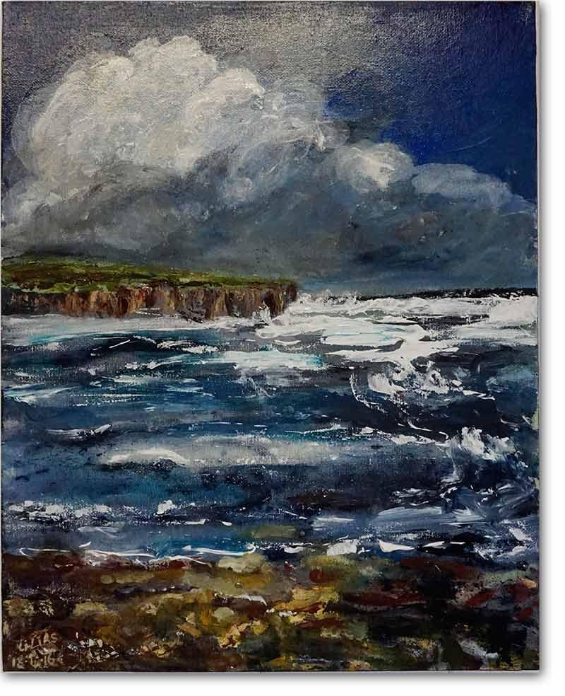 Cliffs in Orkney