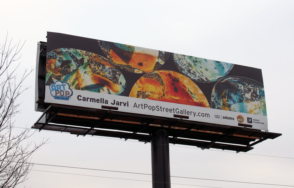 Jarvi's ArtPopCLT 2018  Adams Outdoor Advertising  billboard:)