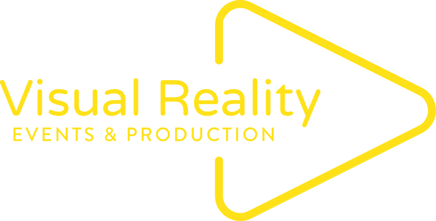 Visual Reality Events & Production