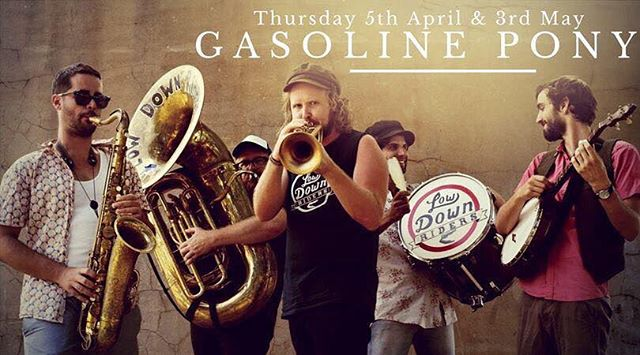 Back from our adventures at the @nationalfolkfestival and playing at our home, the @gasolinepony tonight from 7pm.  #lowdownriders#marrickville#gasolinepony#adventures#music