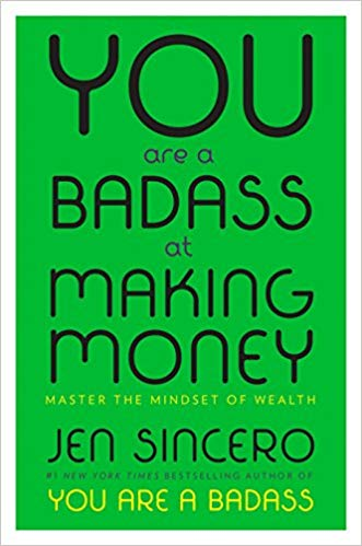 You Are A Bad Ass at Making Money - Jen SinceroI've seen this book everywhere but I wasn't sold on it just yet. That was until one of my clients came in with it and she gave rave reviews. So I picked it up and LOVED IT! Finished it practically in a week.I like the fact that it was more about your relationship with money then just making money.