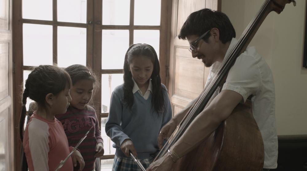Casa Victoria. Concierto para niños Centro histórico de Quito. Junio 2017.
