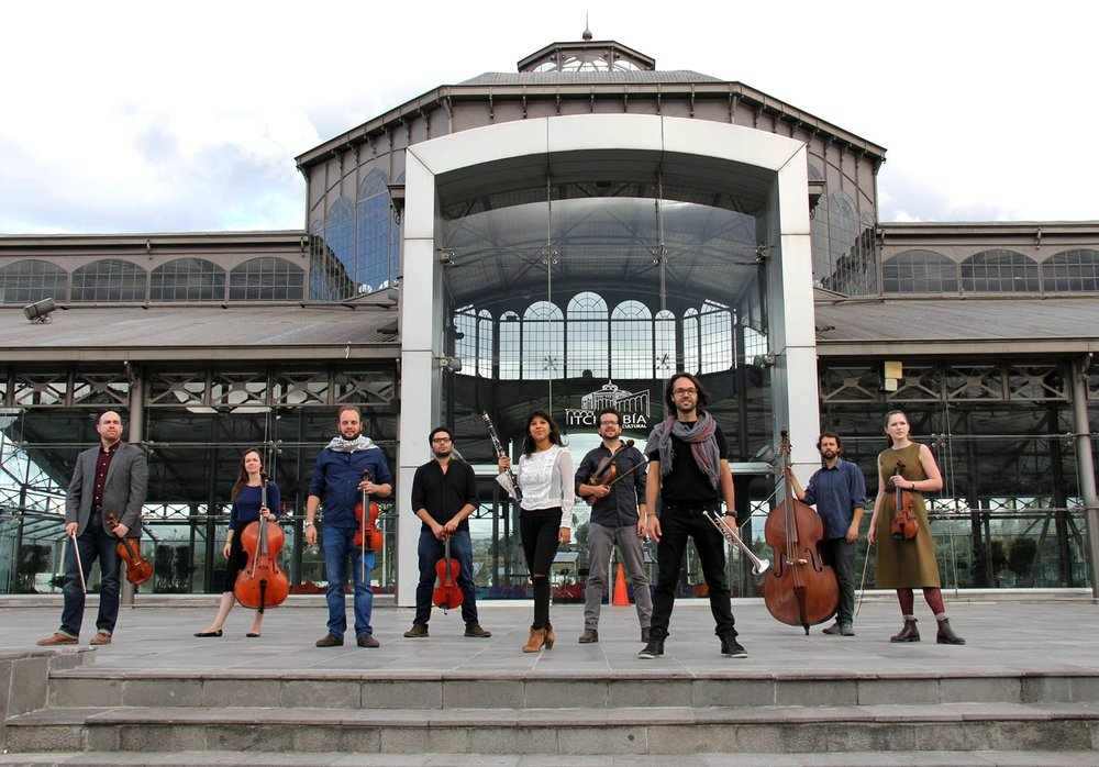 Músicos Residentes MúsicaOcupa 2017 Palacio de Cristal, Itchimbía. Junio 2017